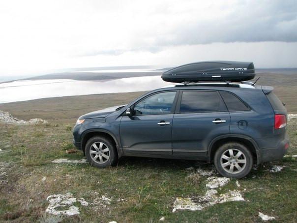 Автобокс Terra Drive черный 480 литров