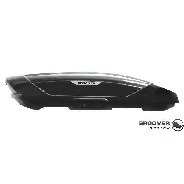 Автобокс Broomer Venture L черный глянец