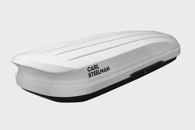 Автобокс Carl Steelman Avangard 430 литров белый карбон
