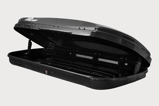 Автобокс Carl Steelman Sport 330 литров черный карбон
