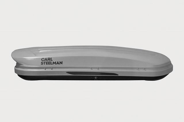 Автобокс Carl Steelman Sport 330 литров серый карбон