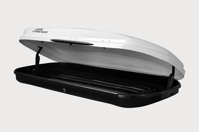 Автобокс Carl Steelman Sport 350 литров белый карбон
