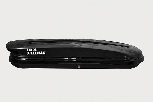 Автобокс Carl Steelman Sport 330 литров черный глянец
