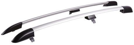Рейлинги L для Chevrolet Niva 2002-... АПС анод серый
