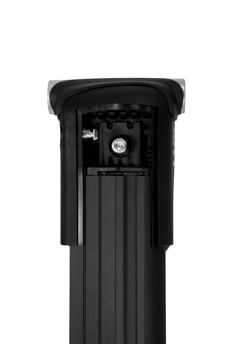Багажник на рейлинги Lux Хантер L45-B черный