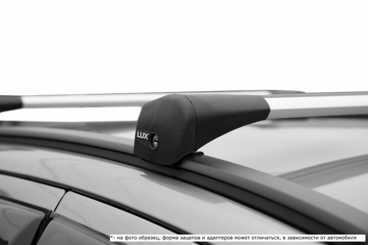 LUX BRIDGE серый, крыловидные аэро дуги (модельный багажник)