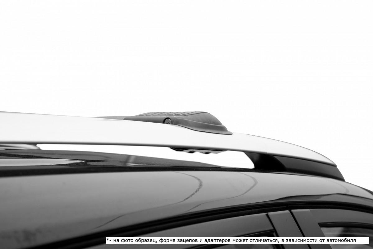 LUX HUNTER черный, крыловидные аэро дуги (модельный багажник)
