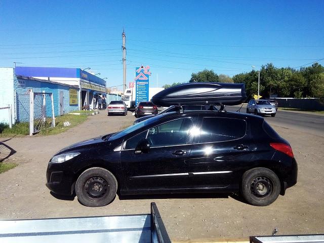 Автобокс Koffer 430 черный матовый