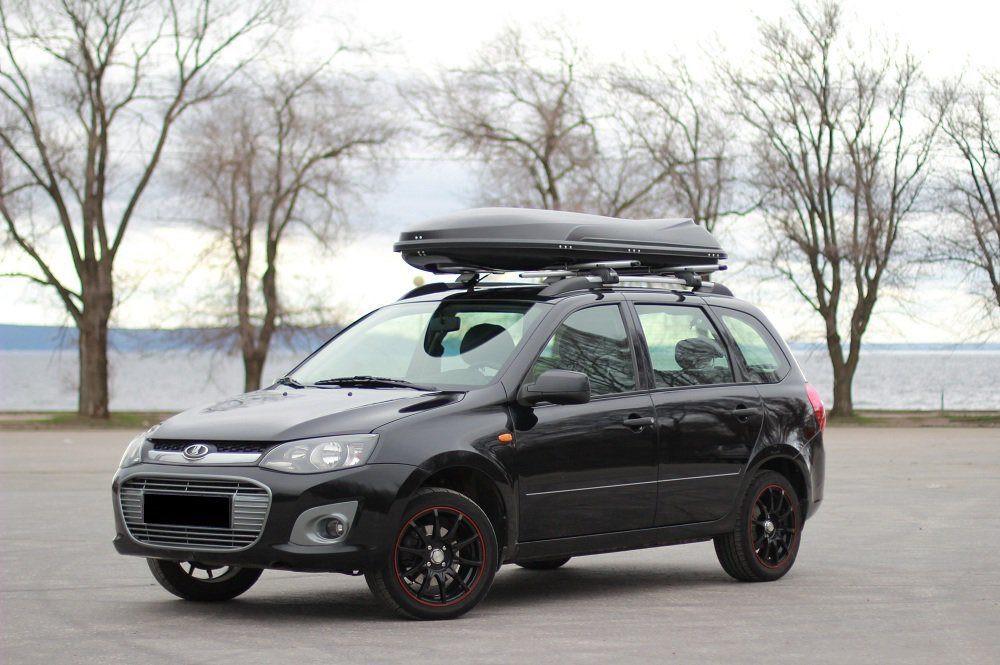 Автобокс Yago Cosmo Sport черный матовый