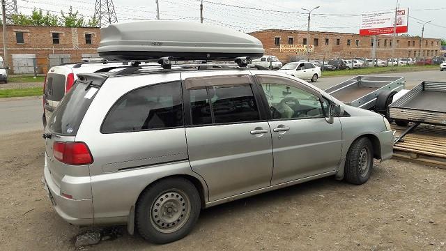 Автобокс Koffer 480 серый матовый