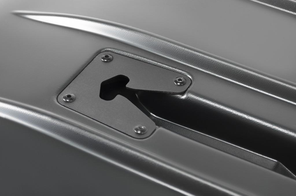 Автобокс Broomer Venture L серый тиснение