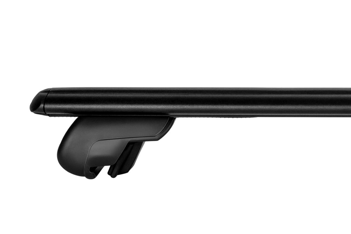 Багажник на интегрированные рейлинги Атлант аэродинамические дуги черные