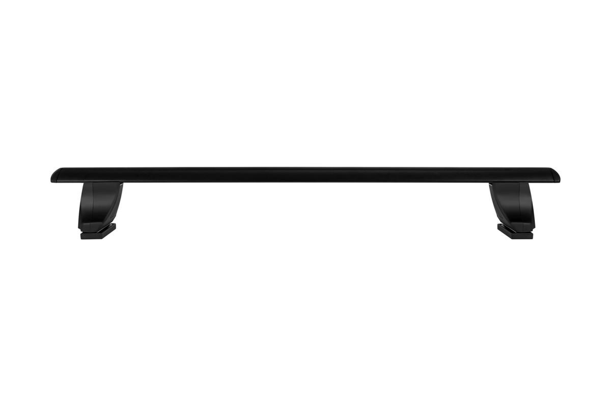 Атлант, крыловидные аэро дуги черные (модельный багажник)