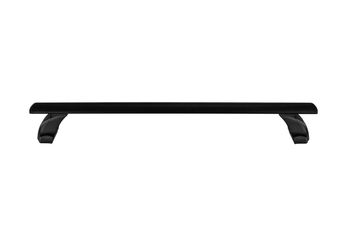Атлант, крыловидные аэро дуги черные (на интегрированные рейлинги)