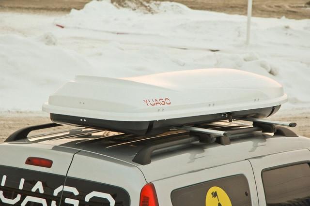 Автобокс Yuago Cosmo Sport белый матовый