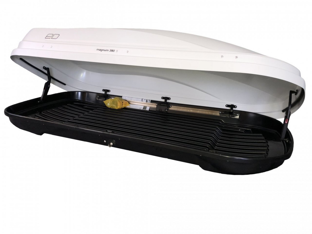 Автобокс Магнум 390 белый металлик