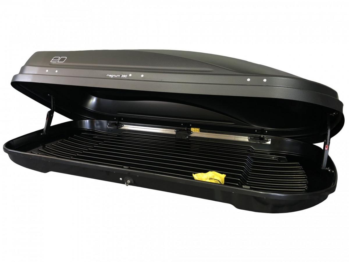 Автобокс Магнум 390 черный карбон