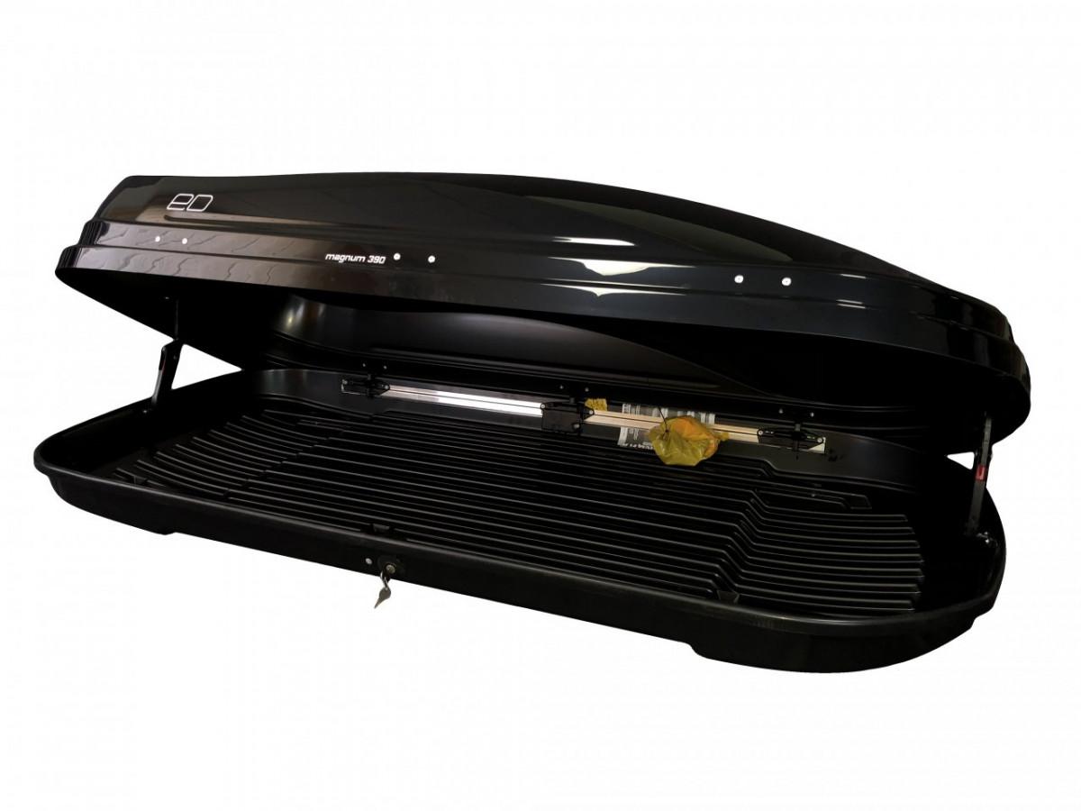 Автобокс Магнум 390 черный металлик