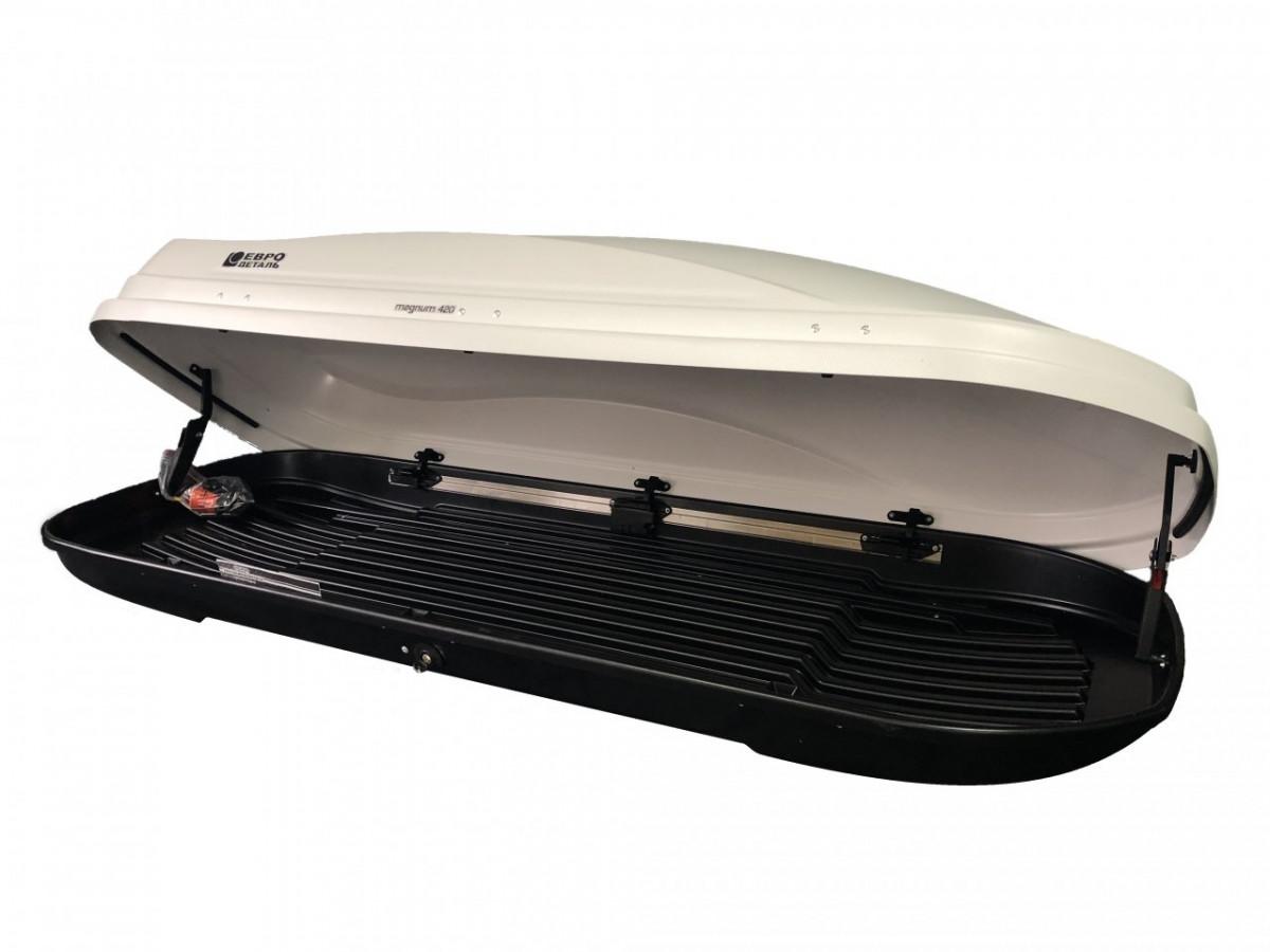 Автобокс Магнум 420 белый карбон