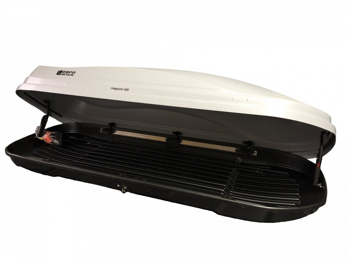 Автобокс Магнум 420 серый карбон