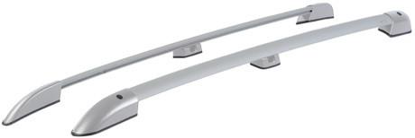 Рейлинги на LADA LARGUS (2012- ) АПС серый пластик