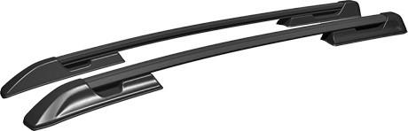 Рейлинги на Volkswagen AMAROK (2010- ) АПС полимер черный
