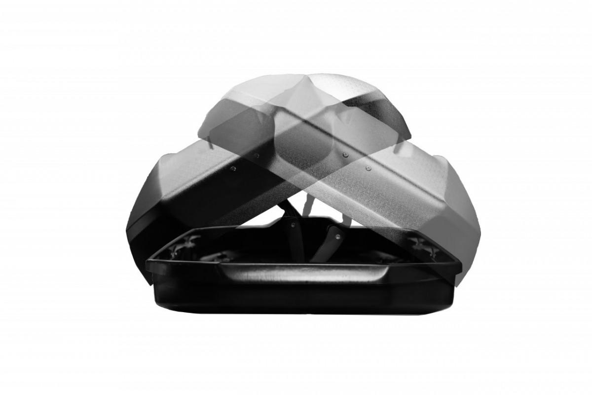 Автобокс Lux Tavr 197 черный матовый