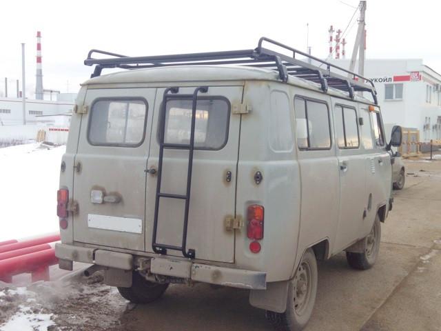 Багажник для УАЗ 3741,2206 (микроавтобус) с сеткой