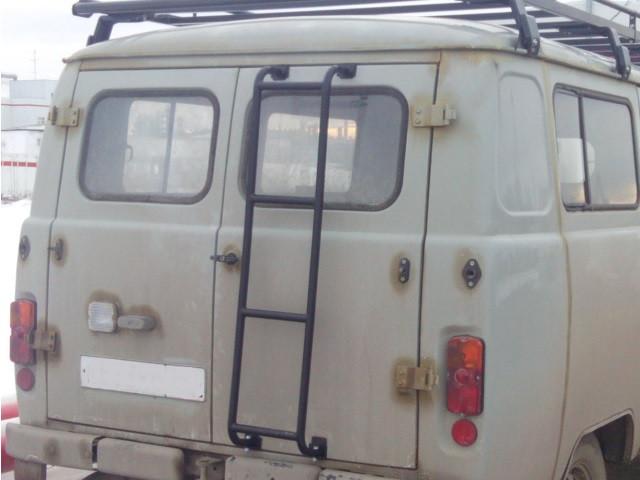 Лестница для УАЗ 3741,2206 (микроавтобус)