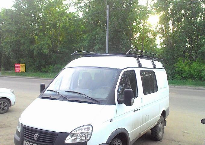Багажник для на Баргузин 2217 без сетки