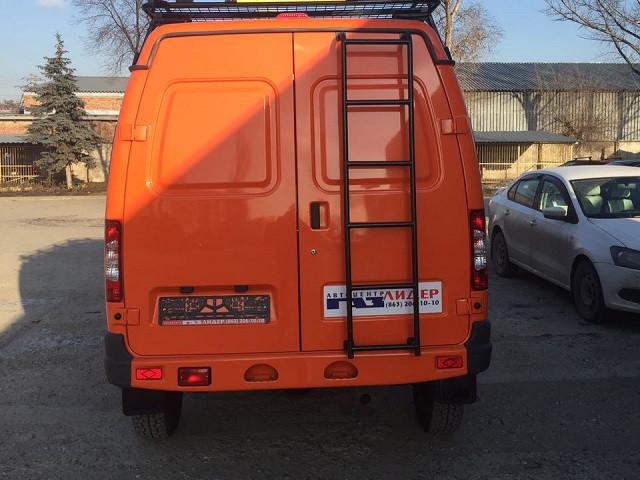 Лестница для ГАЗ 3221,2705(Газель), ГАЗ 2752 (Соболь)