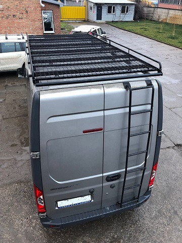 Багажник для Газель Некст (A32R32 / A32R33)(грузопассажир) без сетки