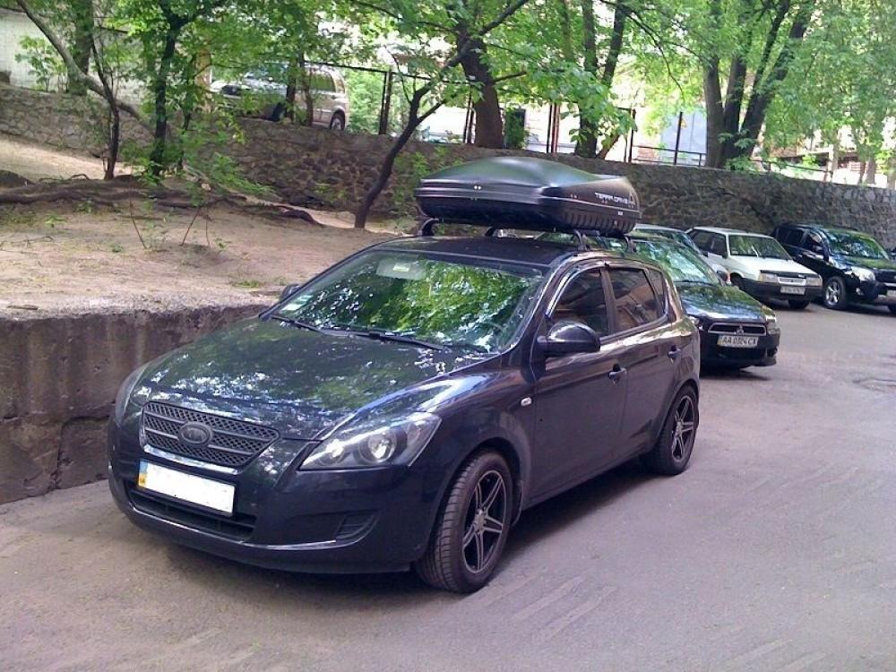 Автобокс Terra Drive черный 420 литров
